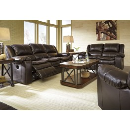 Long Knight Brown Power Reclining Living Room Set