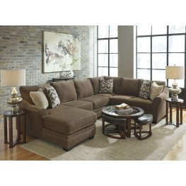 Justyna Teak LAF Sectional