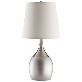 Silver/Chrome Table Lamp Set of 2