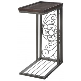 Antique Brown Accent Table
