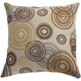 Circle Swirls Accent Pillow Set of 2