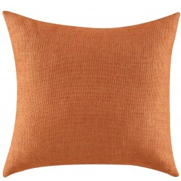 905052 Textured Orange Accent Pillow Set of 2