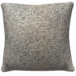 905322 Neutral Paisley Pillows Set of 2