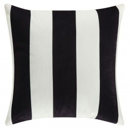 905333 Black Stripes Accent Pillow Set of 2