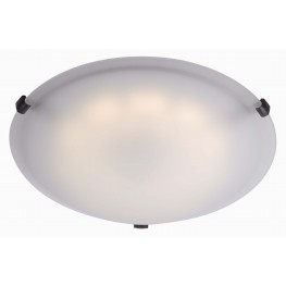 Aero Oil Rubbed Bronze LED Large Flush mount