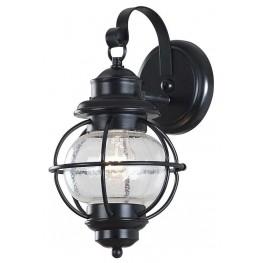 Hatteras Black Small Wall Lantern
