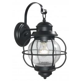 Hatteras Black Medium Wall Lantern