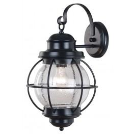Hatteras Black Large Wall Lantern
