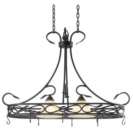 Countryside 2 Light Pot Rack
