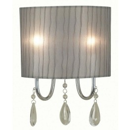 Arpeggio Chrome 2 Light Sconce