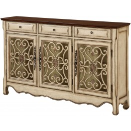 Harvester Textured Cream Credenza