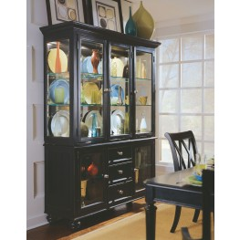 Camden Black China Cabinet