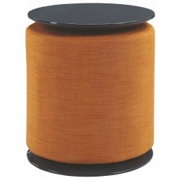 High Gloss Orange Accent Table By Scott Living