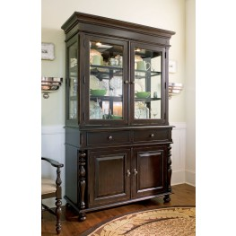 Paula Deen Home Tobacco Buffet & Hutch