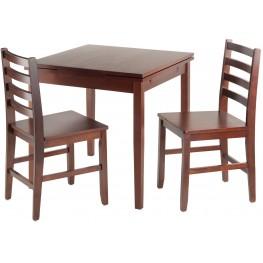 Pulman 3 Piece Extendable Dining Set