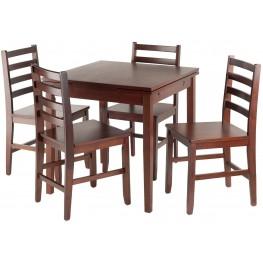 Pulman 5 Piece Extendable Dining Set