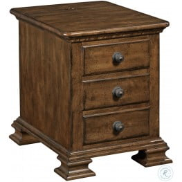 Kensington Place Chandler Drawer End Table From Lexington 708 952 Coleman Furniture