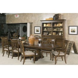 Portolone Carusso Extendable Dining Room Set