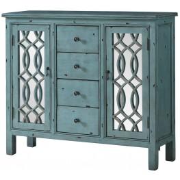 Antique Blue Accent Table