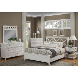 Potter White Youth Panel Bedroom Set