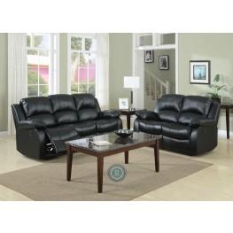 Cranley Black Reclining Living Room Set