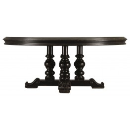 Costa Del Sol Black Andalusian Dining Table