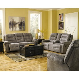 Rotation Smoke Power Reclining Living Room Set