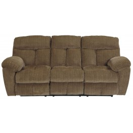 Hector Caramel Reclining Sofa
