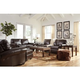 Canterelli Chestnut Living Room Set