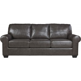 Canterelli Gunmetal Queen Sofa Sleeper