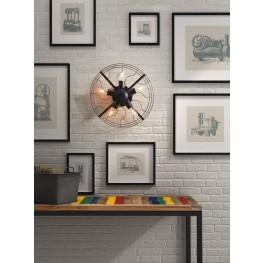 Simonite Rust Black Wall Lamp