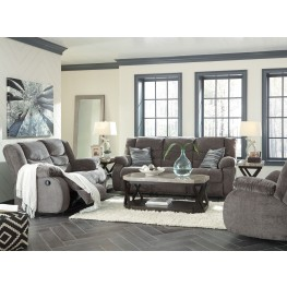 Tulen Gray Reclining Living Room Set