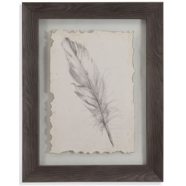 Feather Sketch III Wall Art