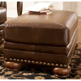 Chaling DuraBlend Antique Ottoman