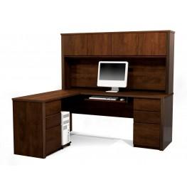 Prestige Plus L-Shaped Workstation Kit