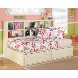 Cottage Retreat Twin Bedside Storage Bed