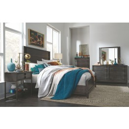 Proximity Heights Smoke Anthracite Panel Bedroom Set