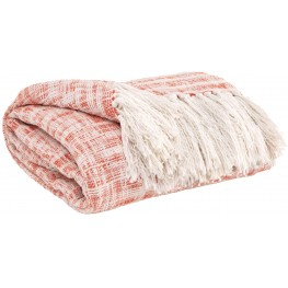 Cassbab Coral Throw Set of 3