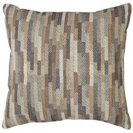 Daru Cream and Brown Pillow
