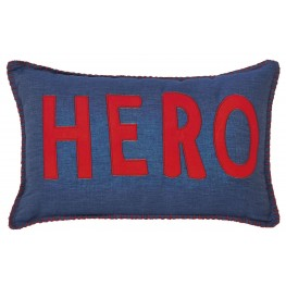 Amarion Blue and Red Pillow Set of 4