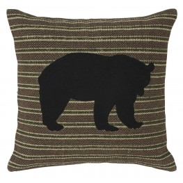 Darrell Black and Green Pillow Set of 4