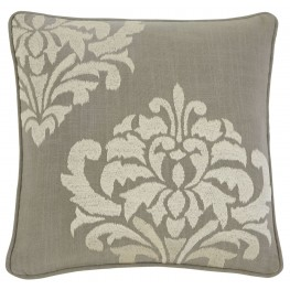 Damask Gray Pillow Cover Set of 4