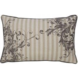 Avariella Natural and Gray Pillow