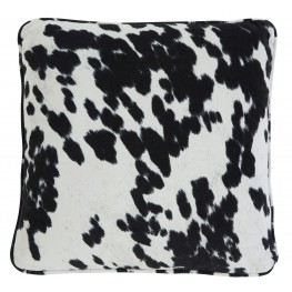 Pattern Black Pillow Set of 4