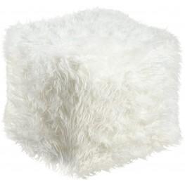 Himena White Pouf