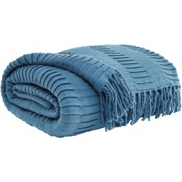 Mendez Blue Throw Set of 3