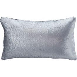Priscella Silver Pillow Set of 4