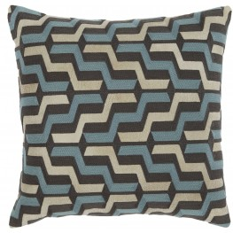 Babette Blue and Gray Pillow Set of 4