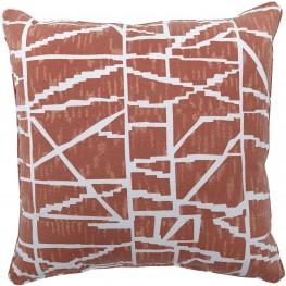 Granville Burnt Orange Pillow Set of 4