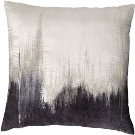 Madalene Charcoal Pillow Set of 4